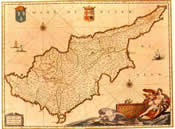 Cyprus History Map